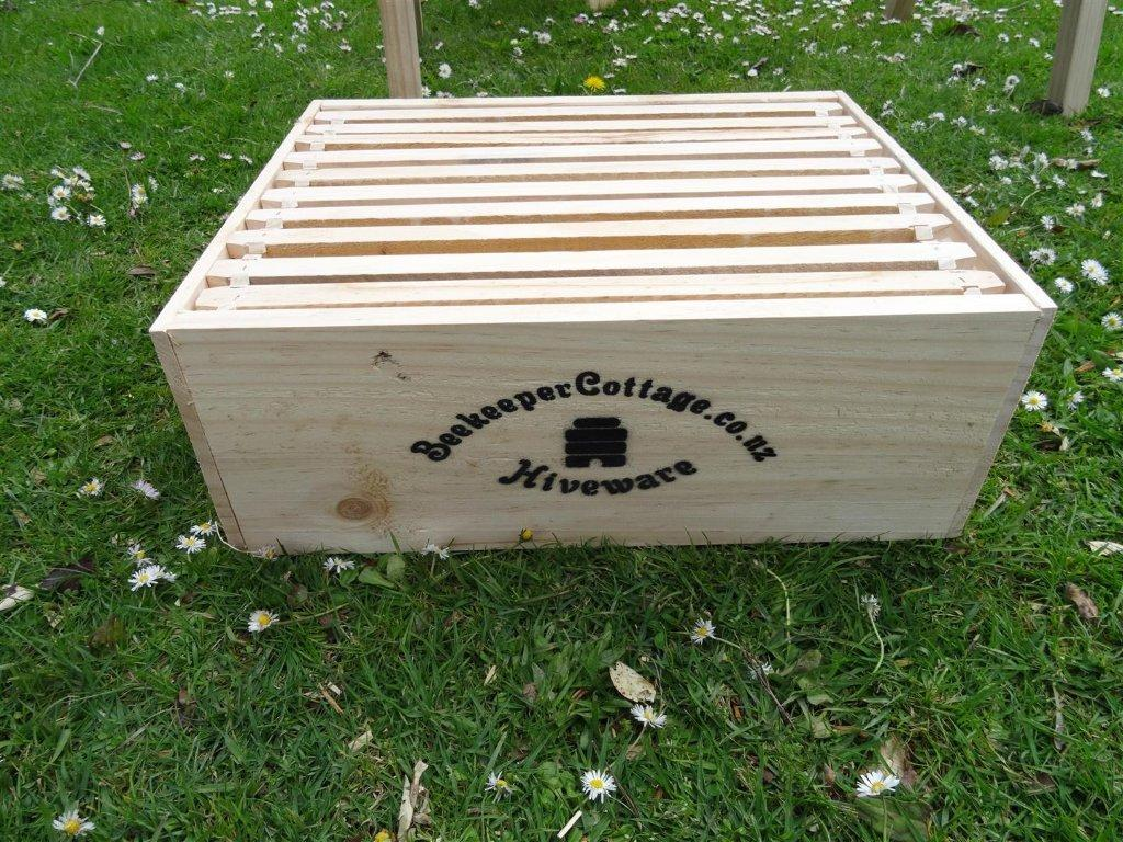 Beekeeper Cottage Langstroth three quarter complete box (Pine)